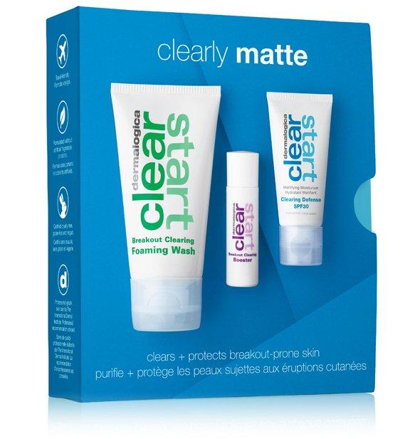 Zestaw Clearly Matte Skin Kit